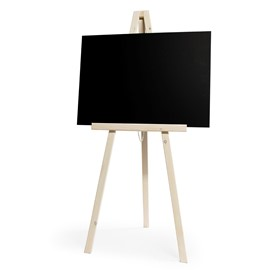 Image of Large Artists Chalkboard Easel - White (board not included)