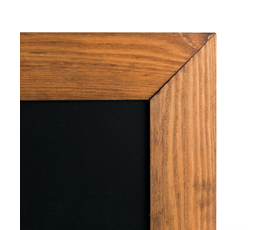 Image of Double Sided Dark Framed Boards
