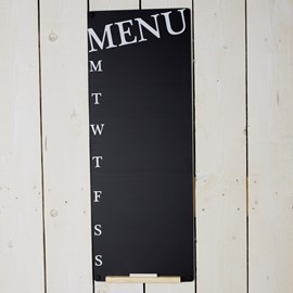 Image of Weekly Menu Planner Chalkboard