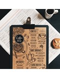 Image of Wooden Clipboards (Chalkboard Finish)