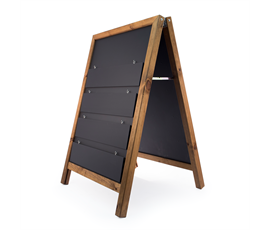 Image of A-Frame Hanging Display Chalkboard
