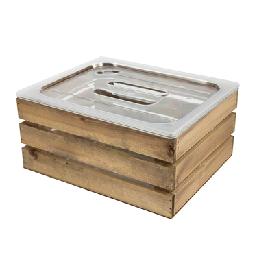 Image of Wooden Ice Bucket