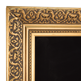 Image of  Ornate Gold Chalkboards