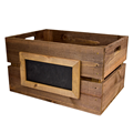 Image of Wooden Crates with Chalkboard