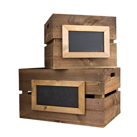 Image of Planter Crate Chalkboards