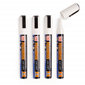 Image of White Thin (Pack of 4) Liquid Chalk Pens