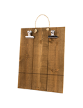 Image of Rustic Wooden Poster Holder