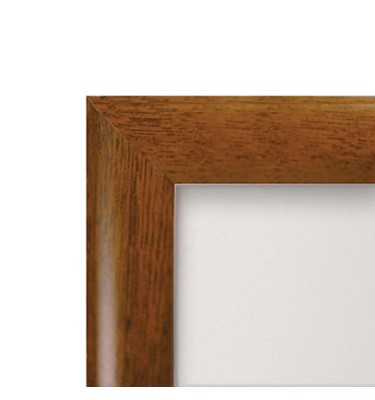 Image of Wood Effect Aluminum Snap Frames