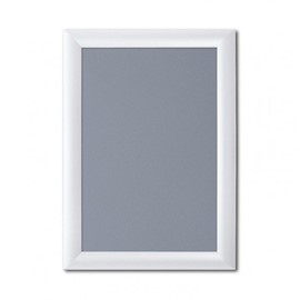 Image of White Aluminium Snap Frames