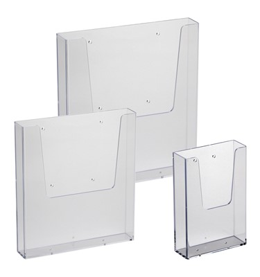 Image of Wall Mounted Leaflet Dispenser