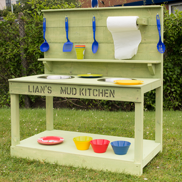 Image of Outdoor Mud Kitchen