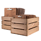 Image of Clipboard Wooden Crate Holder