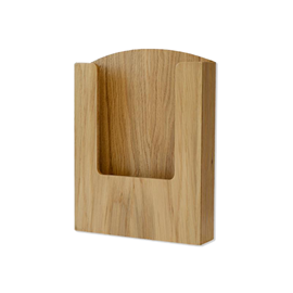 Image of Pocket Wooden Menu Holder
