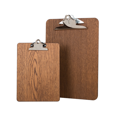 Image of Premium Dark Oak Clipboards