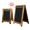 Image of Printed Header Heavy-Weight Chalkboard