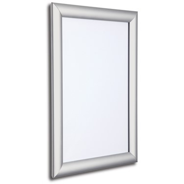 Image of Secure Aluminium Snap Frame Poster Holders (Silver)