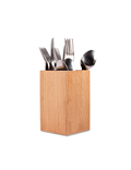 Image of Wooden Cutlery Holder