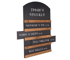 Image of Sliding Display Chalkboards