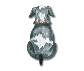 Image of Scruffy Pup - Wall Hooks