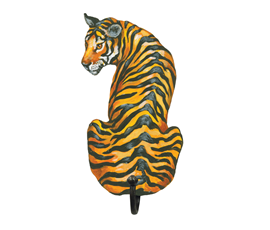 Image of Tiger - Wall Hooks