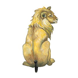 Image of Lion - Wall Hooks
