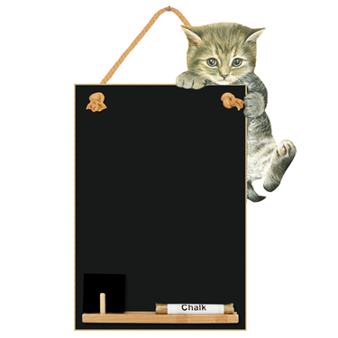 Image of Kitten - Small Memo Chalkboard