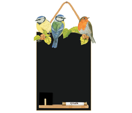 Image of Garden Birds - Small Memo Chalkboard