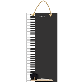 Image of Piano Keys - Tall Thin Chalkboard