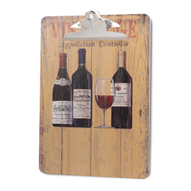 Image of Vin Rouge - A4 Printed Clipboard