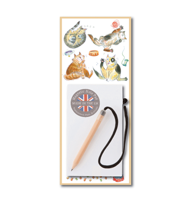 Image of Happy Cats - Magnetic Notepads