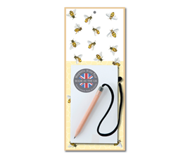 Image of Bees - Magnetic Notepads