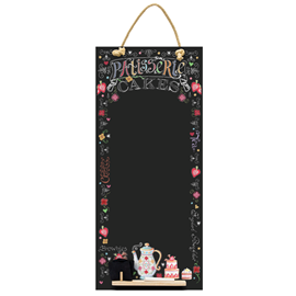 Image of Patisserie - Tall Thin Chalkboard