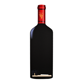 Image of Bottle - Shaped Chalkboard