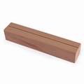 Image of Wooden Plinth Menu Holders