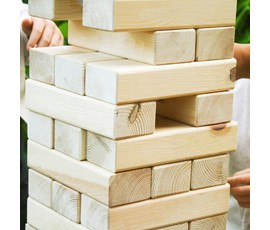 Image of Giant Tumbling Blocks (Plain)