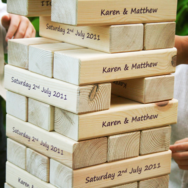 Image of Giant Tumbling Blocks with Print