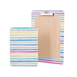 Image of Stripes - Printed Clipboards