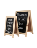 Image of Mini A-Frame Table Top Chalkboards