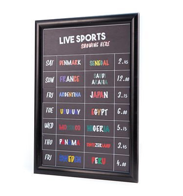 Image of Magnetic Fixture Chalkboards