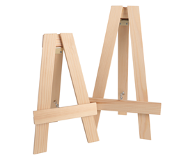 Image of Natural Table Top Easels (only)