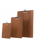 Image of Wooden Clipboards (Dark Stain)