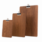 Image of Wooden Clip Boards (Dark)