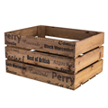 Image of Rustic Crate with Apple & Pear Print