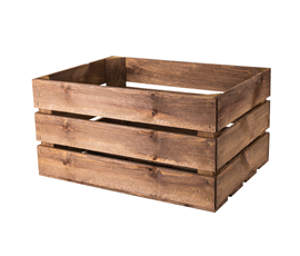 Image of Large Wooden Rustic Crate