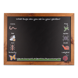 Image of Garden Bug - Kids Chalkboard