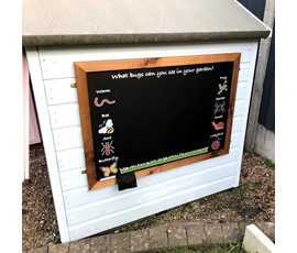 Image of Creepy Crawlies - Large Kids Garden Chalkboard