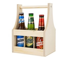 Image of 6 Bottle Beer (500ml) Carrier