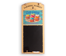 Image of Cupcakes - Tall Thin Chalkboard