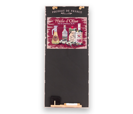 Image of Olive Oil - Tall Thin Chalkboard