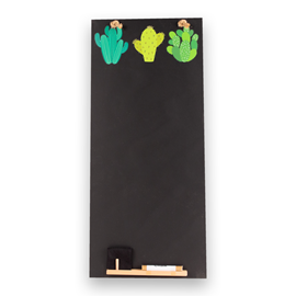 Image of Cactus - Tall Thin Chalkboard